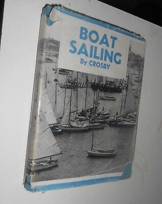 Boat Sailing by Crisby 1935