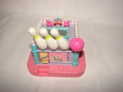 Vintage 1996 Polly Pocket~Polly's Bowling Alley~Strike Works~No Dolls