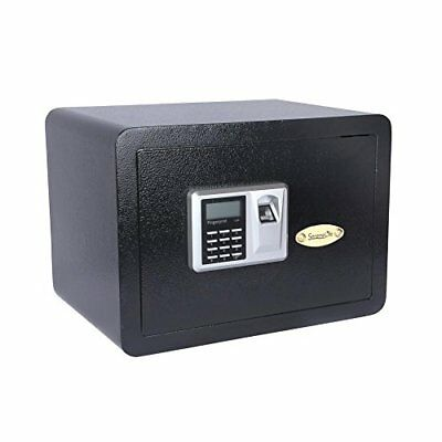SereneLife FingerPrint Safe Box Digital Display Unlock with Mechanical Override