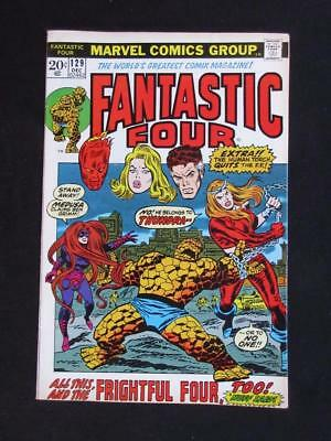Fantastic Four #129 MARVEL 1972 - HIGHER GRADE - 1st app Thundra - Stan Lee!!