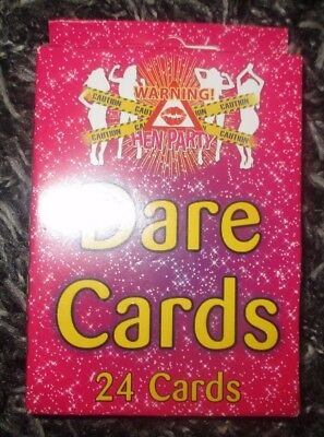 24 Hen Night Dare Cards Night Out Party