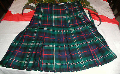 Kilt, mans Pride of Scotland tartan  100% wool made in Scotland, House of Hender