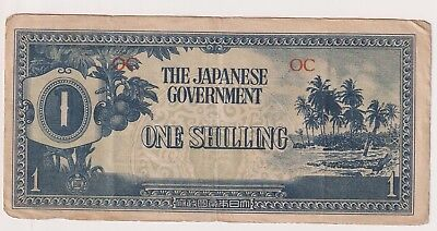 Oceania 1 Shilling Japanese Occupation