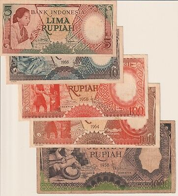 Indonesia Banknote Lot (Lot of 10)