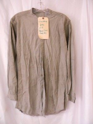 """hero"" Kiefer Sutherland 8 Button Shirt Worn In The Hit Western ""forsaken""!  #5"