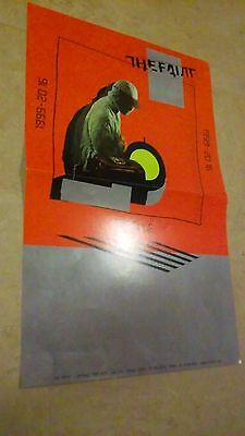 POSTER Lot by The FAINT capsule For the bands new tour promo album cd