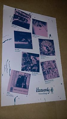 POSTER by HEAVENLY RECORDINGS m craft NIGHT BEATS amber arcades THE PARROTS toy