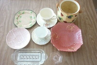 Collection of old china