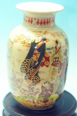CHINESE FOLK ART Collection -- China old Painted porcelain   Vases