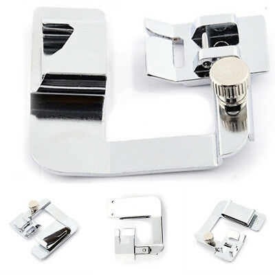Domestic Sewing Machine Foot Presser Tools Roller Hem Feet for Brother Singer x1