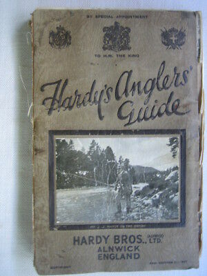 Hardy's Anglers' Guide 1927 Catalogue Book Trout  Fishing Reel Rod Lures access