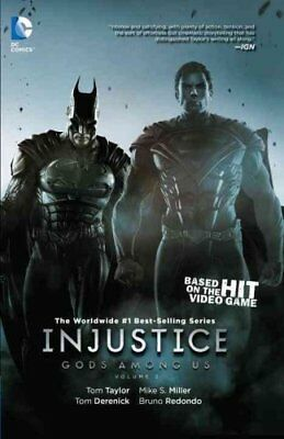 Injustice Gods Among Us Volume 2 TP by Mike S. Miller 9781401250454