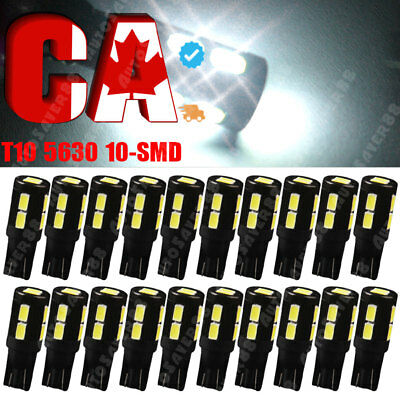 10Pcs New White 5730 9W 18mm Eagle Eye LED Car Motor DRL Backup Lights bulbs 12V