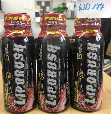 All Stars Liporush Energy-Drink, Cherry, 24er   Fitness Diät Restposten   WD177
