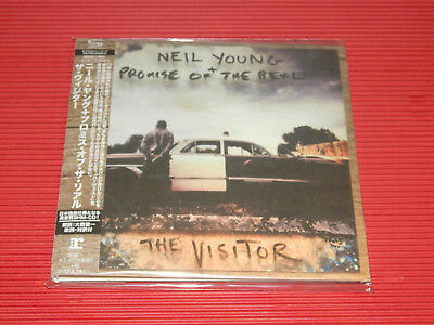 2017 JAPAN ONLY SHM CD NEIL YOUNG The Visitor