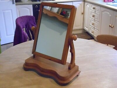 Period dressing table mirror from house clearance