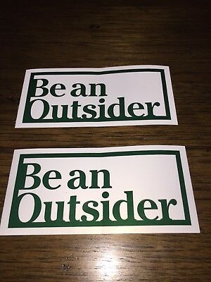 2 LL Bean l.l. be an outsiderStickers NEW