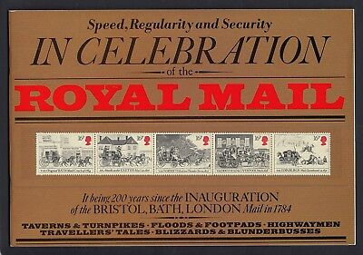 1984  Mail Coaches  Souvenir  Book   Good Condition