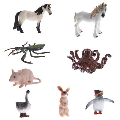 Realistic Octopus/Mantis/Horse Animal Model Role Play Figure Figurine Toys