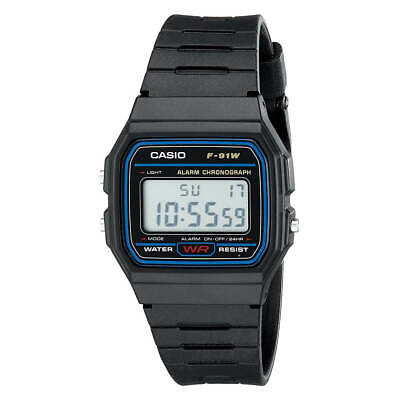 Casio F91W-1 Men's Classic Digital Sport Chrono Resin Strap Watch