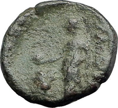 350-150BC Authentic Ancient Original Genuine GREEK Coin APOLLO APHRODITE i63832