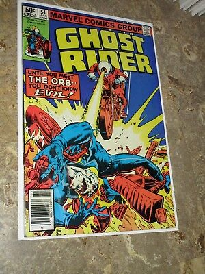 Ghost Rider #54 Marvel Comics 1981 Don Perlin Art Very Fine+ Bronze Age