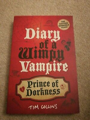Prince of Dorkness: Diary of a Wimpy Vampire by Tim Collins (Paperback, 2011)