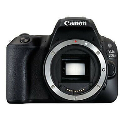 Canon EOS 200D Body Only Black (Multi Language) (kit box) gft Ship from EU