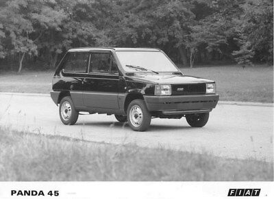 1985 Fiat Panda 45 ORIGINAL Factory Photo oua0321