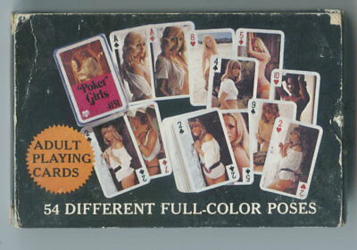 Spielkarten playing cards Pin-Up adult Nude Erotic Sexy erotik Germany  E 11.10