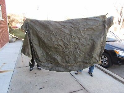 WWII U.S. Army mountain tent Hinson 1943 NOS with 4-poles new old stock.
