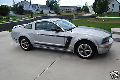 05-09 Ford Mustang V6 Gt C-Stripe With Pin Stripes Decals Graphics Vinyl Sticker