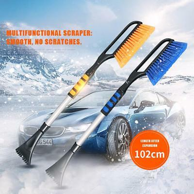 pole handle winter scraper shovel snow removal tools brush good quality T3C0