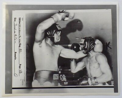 Muhammad Ali 1976 AP Wire Sparring Photo