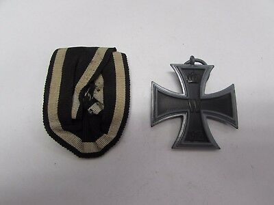 WWI German Iron Cross Second Class medal with ribbon MK241