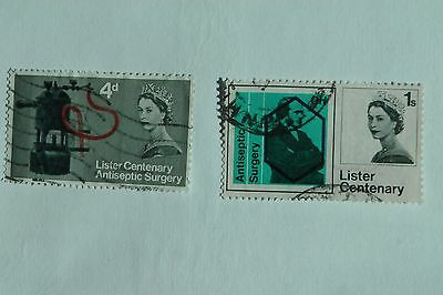 Centenary of Lister's Discovery of Antiseptic Surgery fine used set from 1965