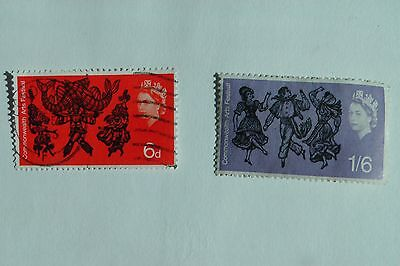Commonwealth Arts festival fine used set from 1965
