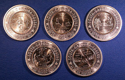 Group of 5 Encased state quarters dated 2003 - MO, ME, AR, IL, AL