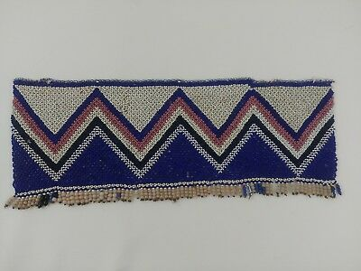 Fine Antique Zulu Bead Panel C1880-1900 South African