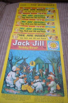 JACK & JILL AND TEDDY BEAR JOBLOT x 20 COMICS FROM THE 1970's