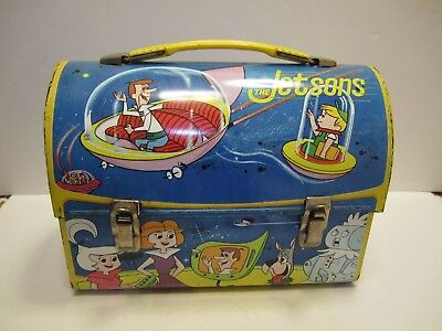 VTG 1963 JETSONS Aladdin Industries Metal Dome Lunch Box