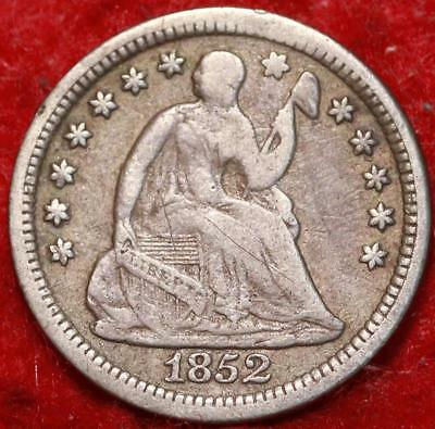 1852-O New Orleans Mint Silver Seated Liberty Half Dime Free S/H