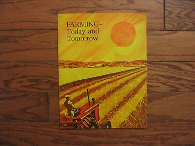 1969 Allis-Chalmers Farm Equipment Brochure..d21 Tractor..combine..plow..cotton