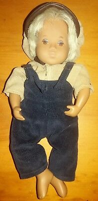"Vintage 12"" SASHA BABY BOY DOLL with BLONDE Hair-CLOTHES INCLUDED"
