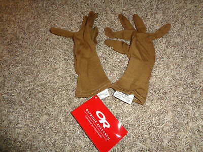 OR Outdoor Research Hurricane Gloves TAN * MEDIUM * Style 72600 * NWT