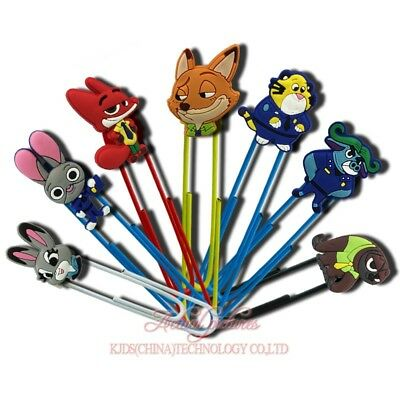 20pcs Zootopia Paper Clips Bookmarks DIY Office School Clips Binder as Xmas Gift