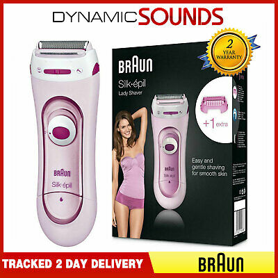Braun LS5100 Silk & Soft Body Wet Dry Lady Shaver For Leg Underarm Hair Bikini