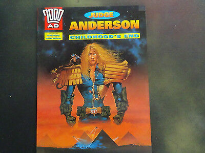 Judge Anderson - Childhood's End - Graphic Novel - 2000AD