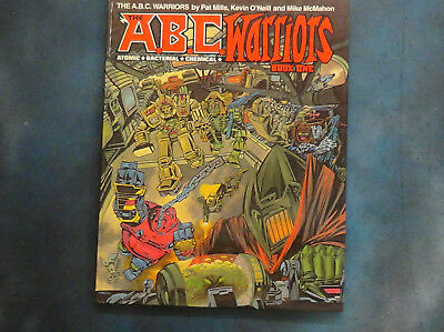ABC Warriors Book One Hardcover - Graphic Novels - 2000AD
