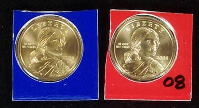 WEEKLY SPECIAL 2008-P&D MInt Set BU Sacagawea/NA Dollar - @ CherrypickerCoins